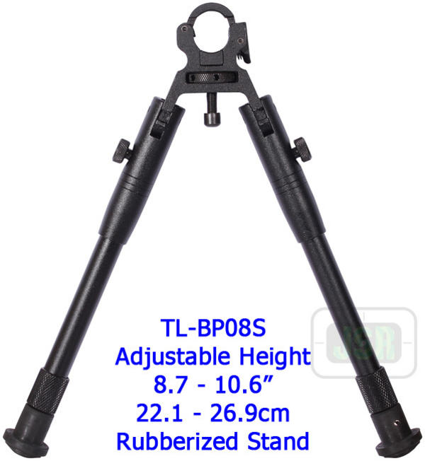 View Item Leapers UTG Dragon Claw Rifle Airgun Gun Fold Up Bipod