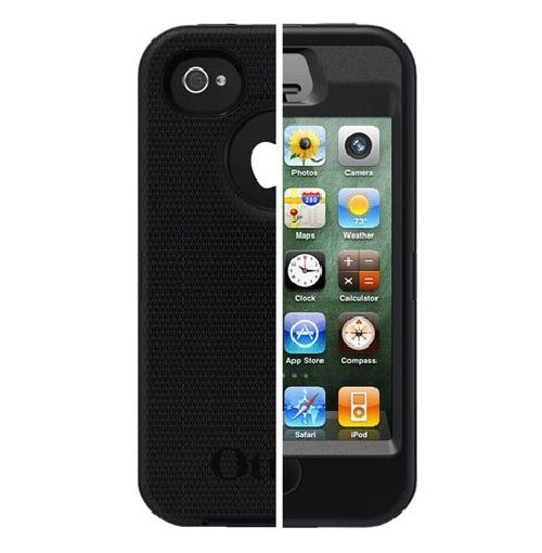 otterbox defender iphone 4s genuine new otterbox defender iphone 4 4s black apl2 1512