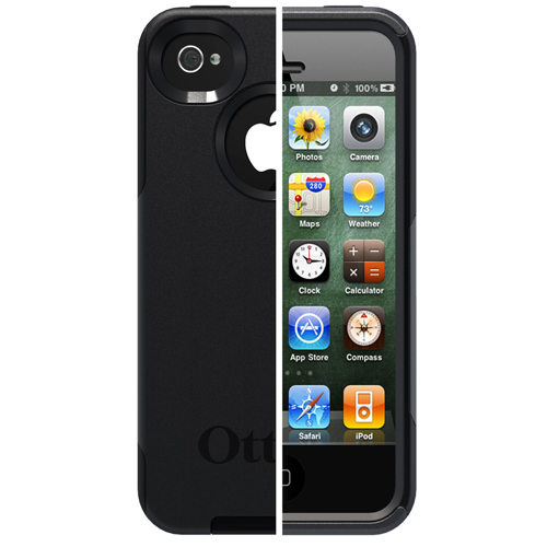 otterbox iphone 4s new genuine otterbox commuter for iphone 4 4s black 2642