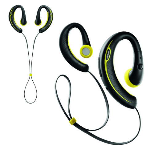 NEW JABRA SPORT PLUS WIRELESS BLUETOOTH STEREO IN EAR HEADPHONES YELLOW  BLACK 40fda4220204