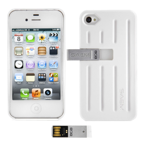 iphone 4 memory new veho saem s7 white cover 8gb integrated usb 10868