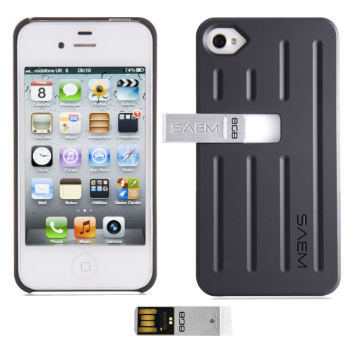 iphone 4 memory new veho saem s7 tacton black 8gb integrated usb 10868