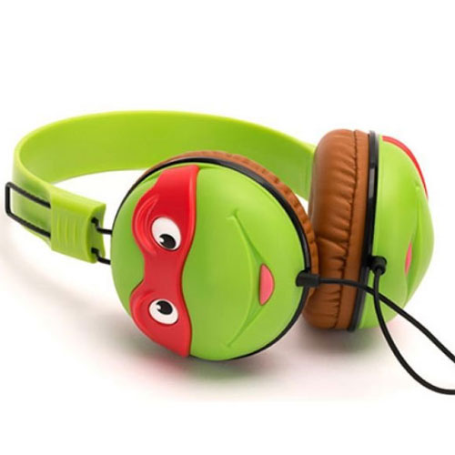 60c7e6202ad NEW GRIFFIN TEENAGE MUTANT NINJA TURTLES OVER EAR WIRED KIDS HEADPHONES  GC38001