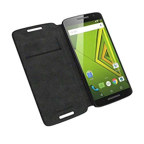 best loved c0098 54a98 Details about NEW OFFICIAL GENUINE MOTOROLA MOTO X PLAY FLIP PROTECTIVE  SHELL CASE COVER BLACK