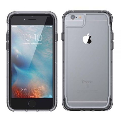 detailed pictures 4821d ebd9c Details about GRIFFIN SURVIVOR CLEAR CASE FOR APPLE IPHONE 8/7/6S/6 - SPACE  GREY - GB42314