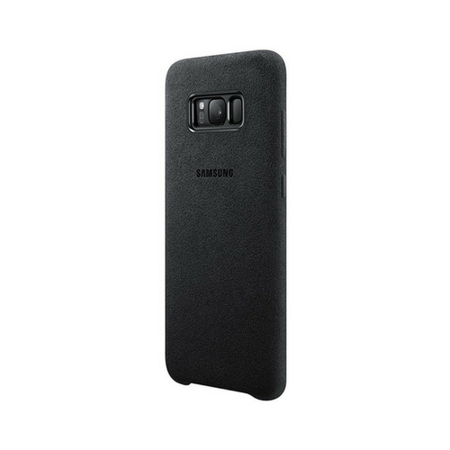 promo code a2f75 c562f Details about NEW GENUINE SAMSUNG GALAXY S8 PLUS ALCANTARA CASE COVER  SILVER GREY EF-XG955ASEG