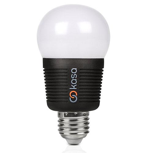 Veho kasa bluetooth smart smartphone controlled led e27 for Bluetooth controlled light bulb