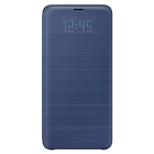 online retailer e6b72 d1058 Details about SAMSUNG LED VIEW CASE FOR SAMSUNG GALAXY S9 PLUS - BLUE -  EF-NG965PLEGWW