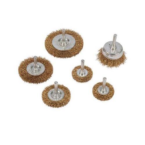 Silverline 993067 Wire Wheel /& Cup Brush Set 6pk 6mm Shank