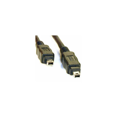 1m Firewire IEEE 1394 4 To 4 Pin Data Cable Lead i-Link DV-OUT Camcorder 1 Metre