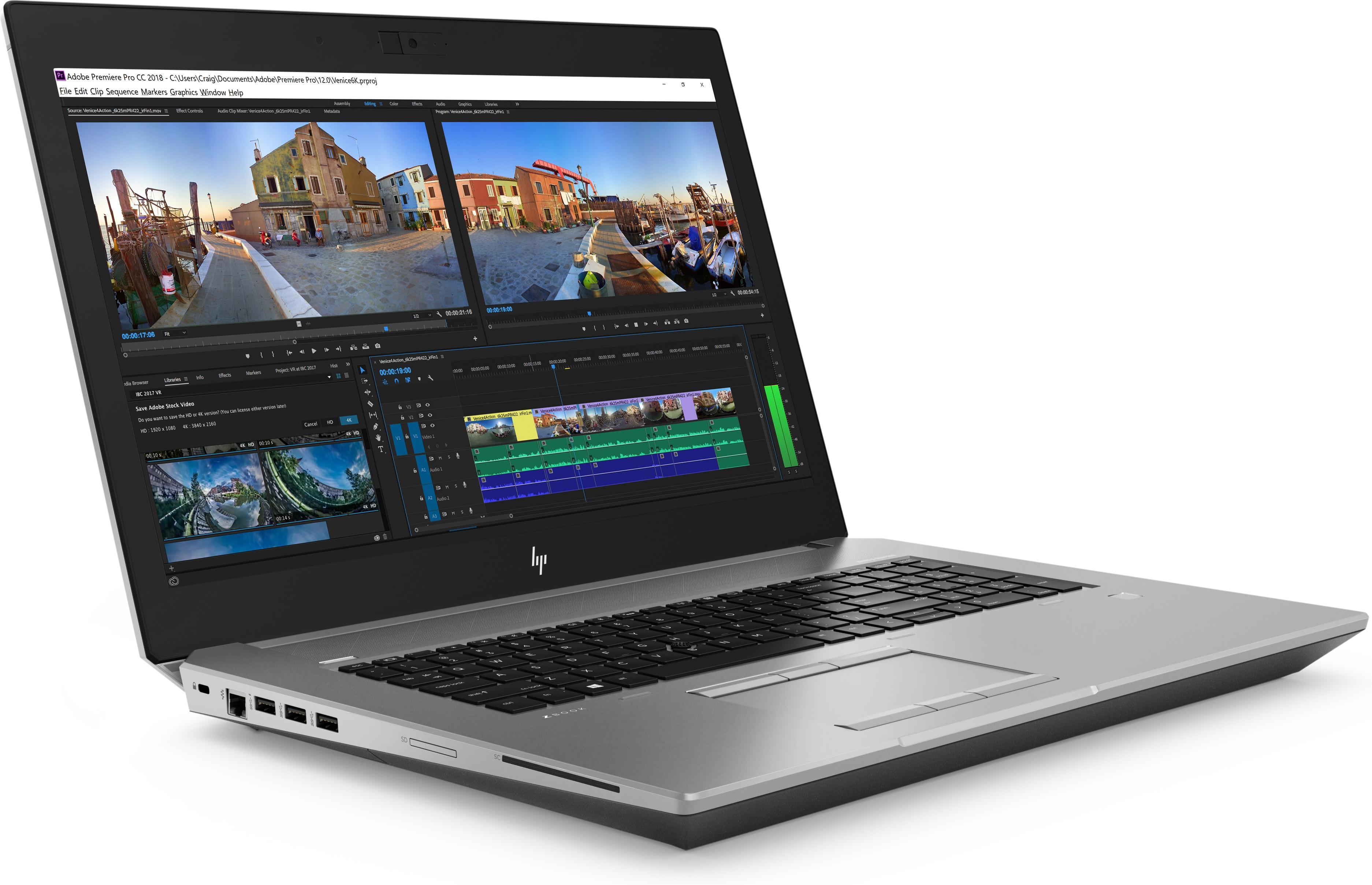 HP ZBook 17 G5 Mobile Workstation 2ZC46ET#ABU ZB E-2186M