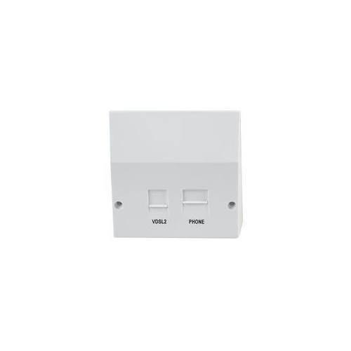 lj5208v kauden vdsl adsl splitter faceplate for nte5 master socket