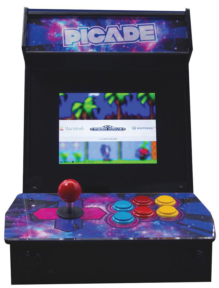 ... Pimoroni - PIM105 - Picade Desktop Arcade Cabinet Kit For Raspberry Pi ...  sc 1 st  eBay & Pimoroni - PIM105 - Picade Desktop Arcade Cabinet Kit For Raspberry ...