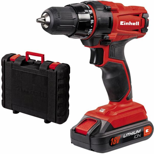 einhell tc cd 18 2 li 18v li ion cordless drill driver ebay. Black Bedroom Furniture Sets. Home Design Ideas