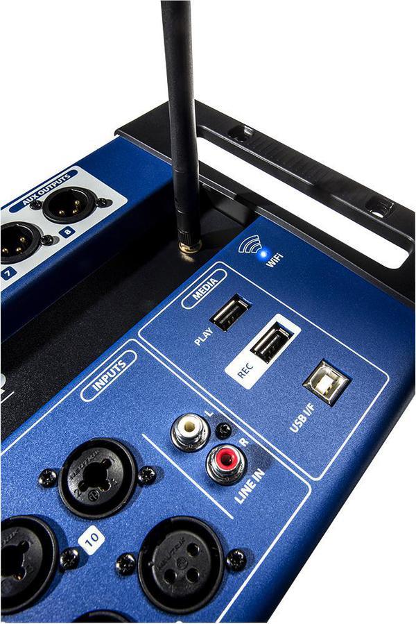 24 channel digital mixer usb multi track recorder wireless control soundcraft ebay. Black Bedroom Furniture Sets. Home Design Ideas