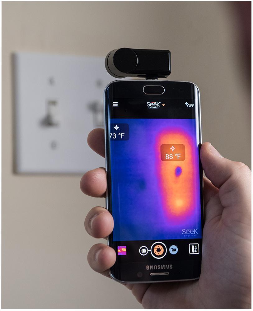 Seek Thermal Camera >> Android Thermal Imaging Camera Seek Thermal Compact Xr Android