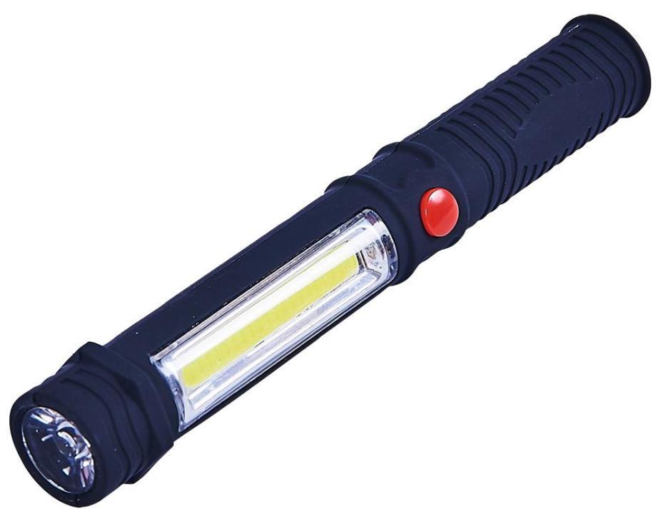 1W LED Pocket Torch Inspection PENLight Lamp TORCHLI 3W COB MAGNETIC Work Light