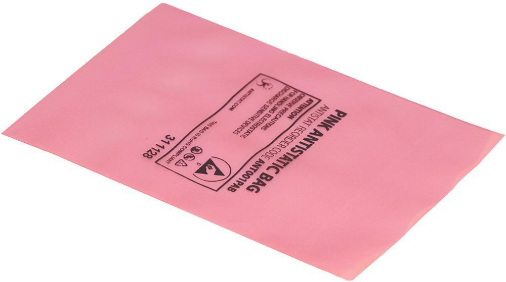 Details about Pink Anti-Static Heat Seal Bags ESD-Safe - 203 x 305mm, 100  Pack - ANTISTAT