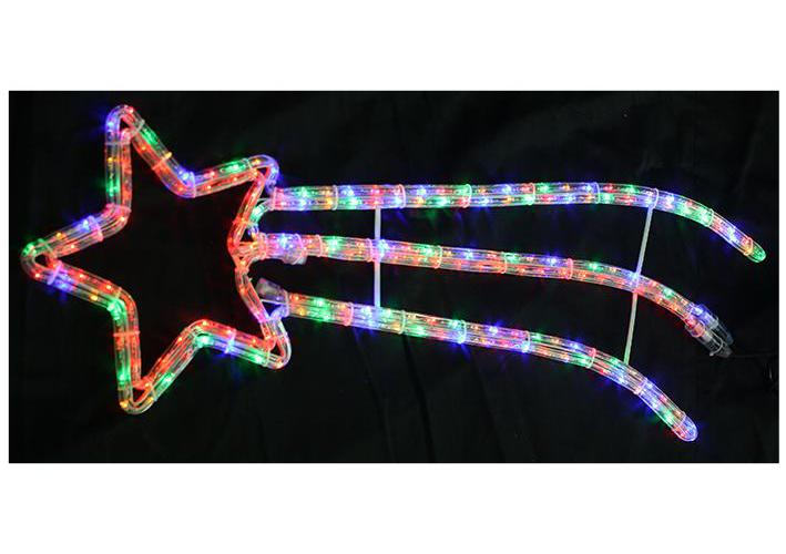 90cm led shooting star rope light xmas lights indoor outdoor christmas decoratio - Shooting Star Christmas Lights Outdoor