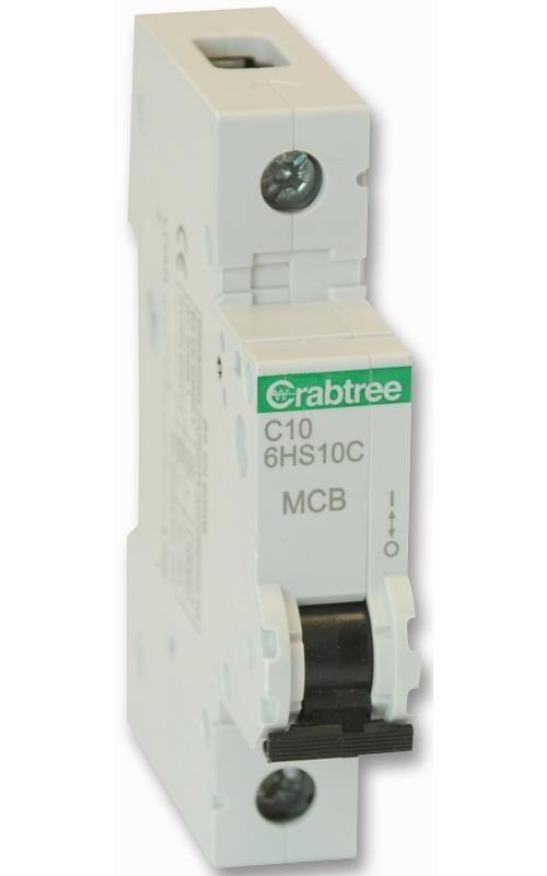 Crabtree Loadstar 6HT40C C Type 40A Triple Pole Mcb