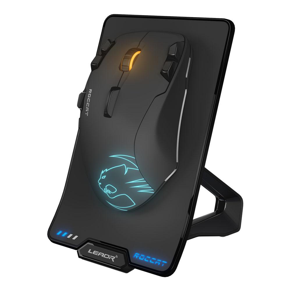 ROCCAT Leadr Wireless 12000dpi Owl-Eye Optical Sensor RGB ...