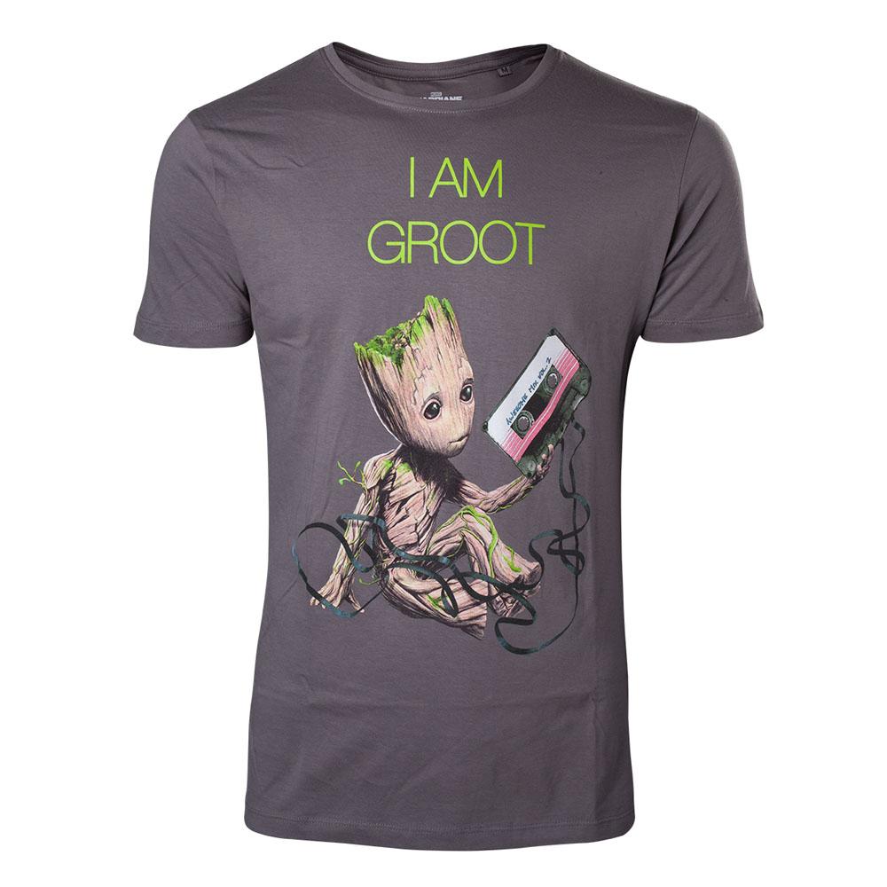 MARVEL COMICS Guardians of the Galaxy Vol. 2 I am Groot T-Shirt Large b95e3da57
