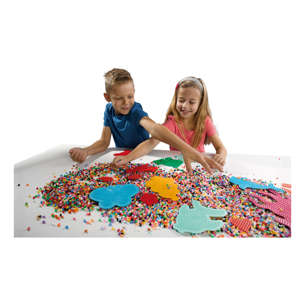 SES CREATIVE Children's Beedz Iron-on Beads Pegboards ...