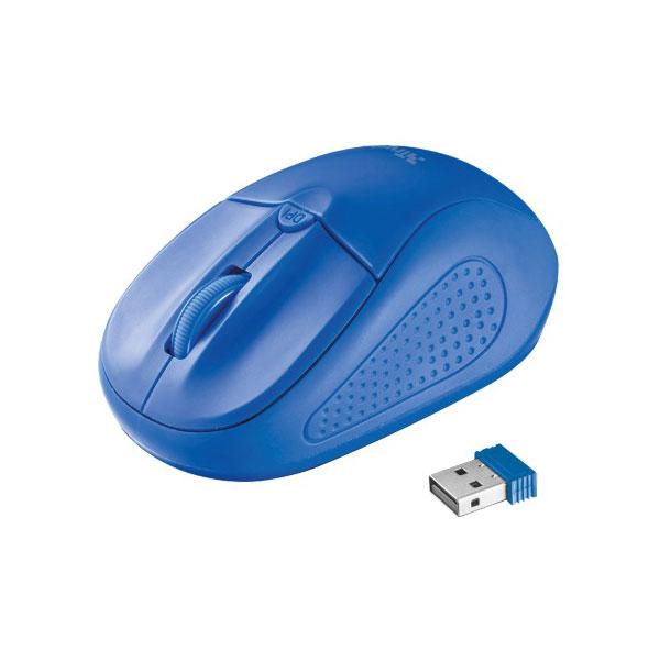 b51aa69edea Trust 20786 Primo Wireless Mouse - Blue 8713439207866 | eBay