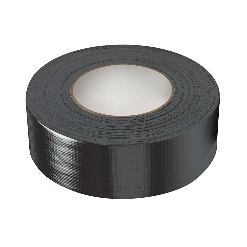 GA261845 FIXMAN Super Heavy Duty Duct Tape 50mmx50m Black Ironmongery Tapes