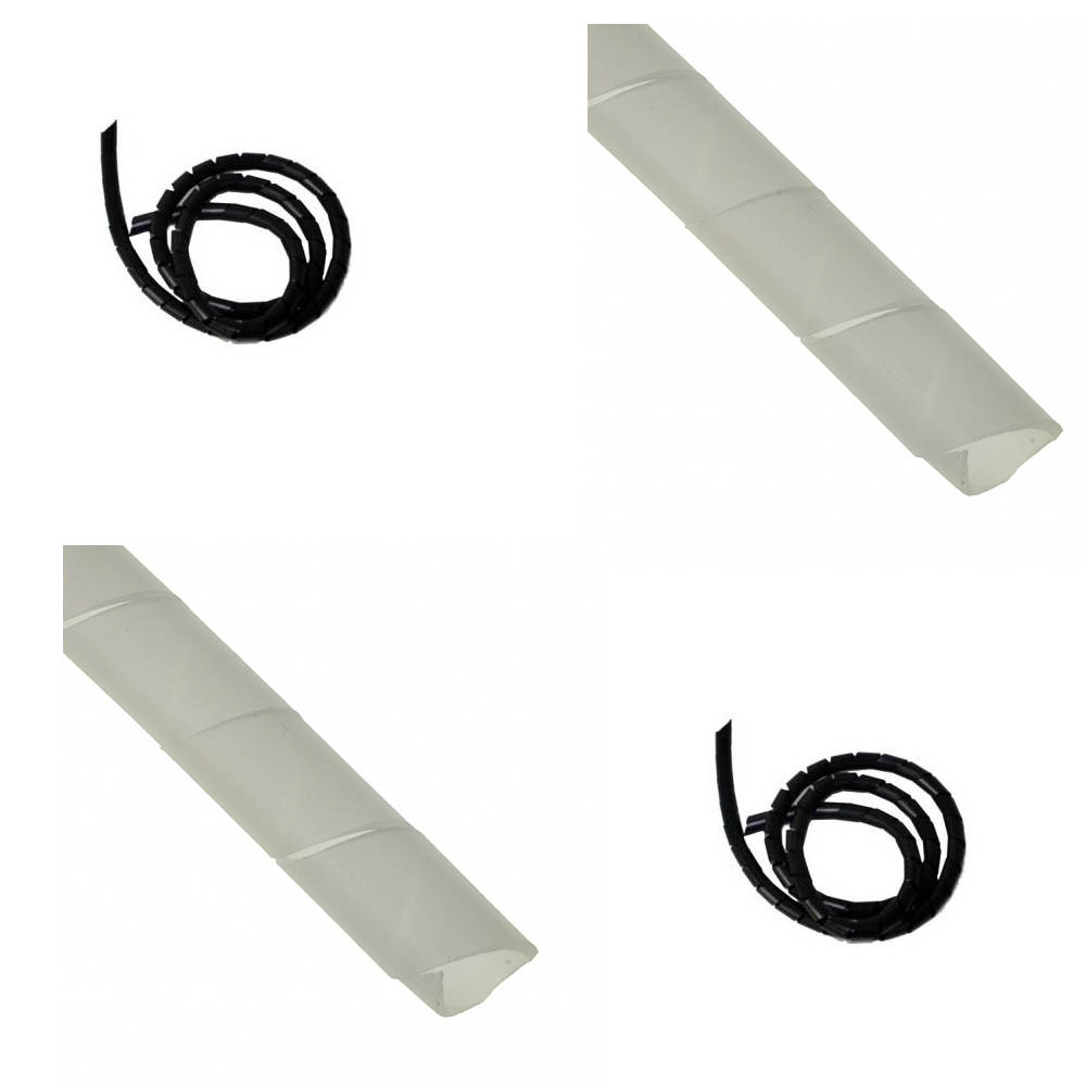 office cable tidy. Spiral Binding Cable Management Wrap Loom Hide Banding PC TV Office Wire Tidy