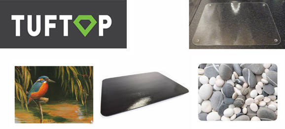 Click here to view our wonderful range of Tuftop glass boards - available at The Emporium Direct!