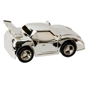 Christening Gifts. Silverplated Sports Car Money Box Preview