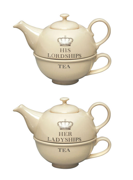 Royal Cream Majestic His Lordship Or Her Ladyship Tea For