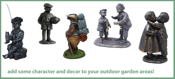 Garden Ornaments available now!
