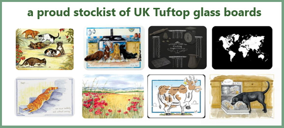 Tuftop glass worktop savers available