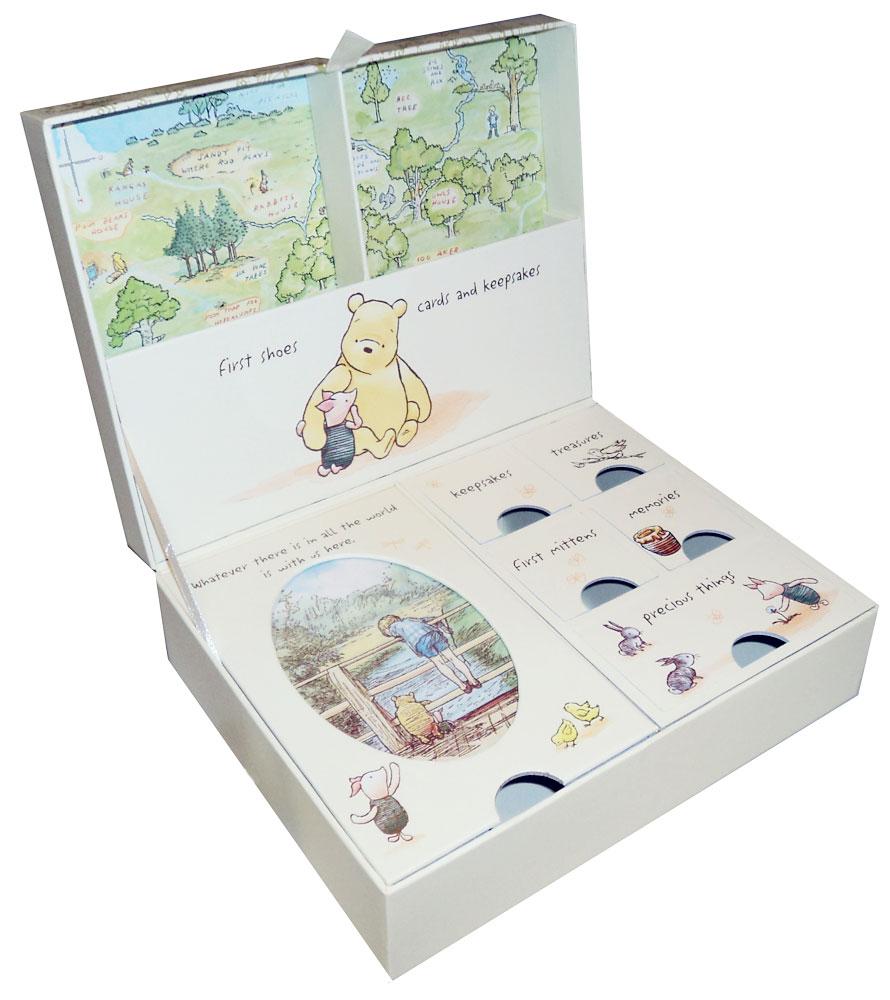 NEW Winnie The Pooh Newborn Baby Keepsake Box Memory Boy ...