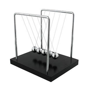 """Harvey Makin Collection 8"""" Newton's Cradle Preview"""
