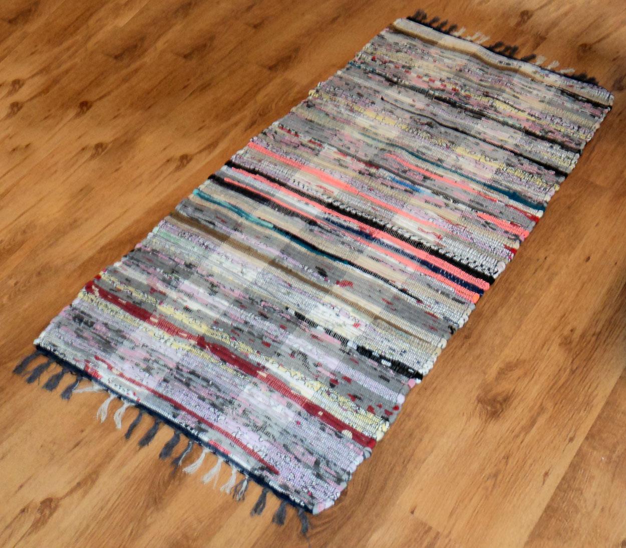 Cotton Floor Mat Runner Chindi Rug