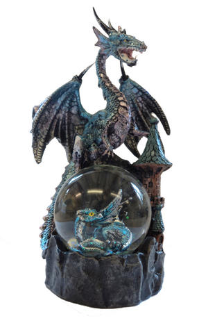 Juliana Mystic Legends Blue Dragon Gift Ornament on a Waterball Preview
