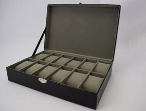 Harvey Makin Lizard Skin Finish Watch Box Holds 12 Watches Preview