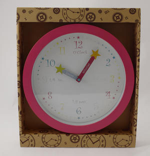 Star Teach The Time Kids Wall Clock Preview