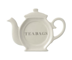 Cream Majestic Teabags Tidy Holder Preview