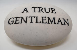 Thoughts Of You Memorial Pebble - A True Gentleman Preview