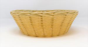 Small Round Poly Rattan Bread Basket Preview