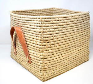 Natural Raffia Storage Cube, 25cm x 30cm Preview