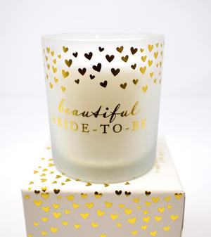 Bride to Be Scented Candle in Gift Box Preview