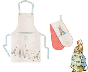 Peter Rabbit Classic Kitchen Apron and Oven Gloves Set Preview