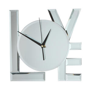 Mirrored Hanging Love Wall Clock Preview