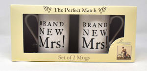 Mug Gift Set Brand New Mrs + Mrs Keepsake Preview