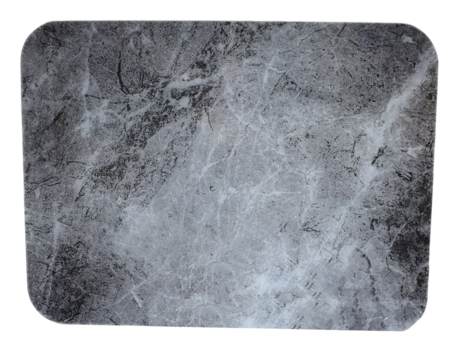 Smooth Glass Light Grey Marble Slate Effect Chopping Board Kitchen ...